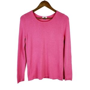 Old Navy Pink Long Sleeve Crew Neck Sweater SP